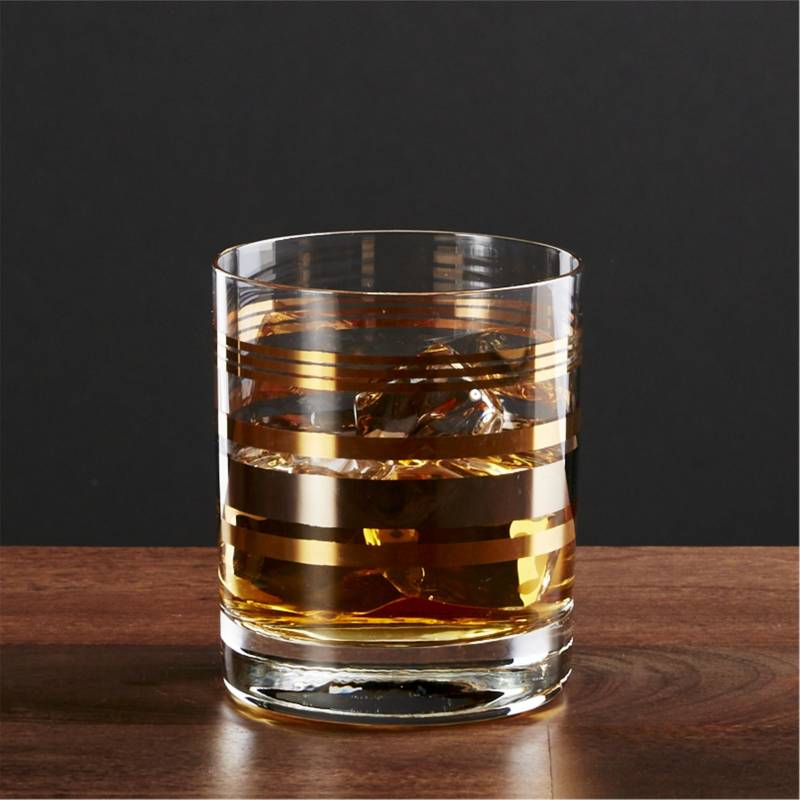 Crate & Barrel - Vaso Double Old Fashioned Gala