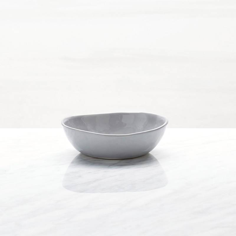 Crate & Barrel - Mini Bowl Mercer Gris 13 cm