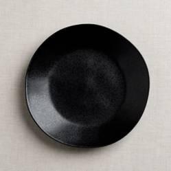 Plato de cena Marin Negro Mate