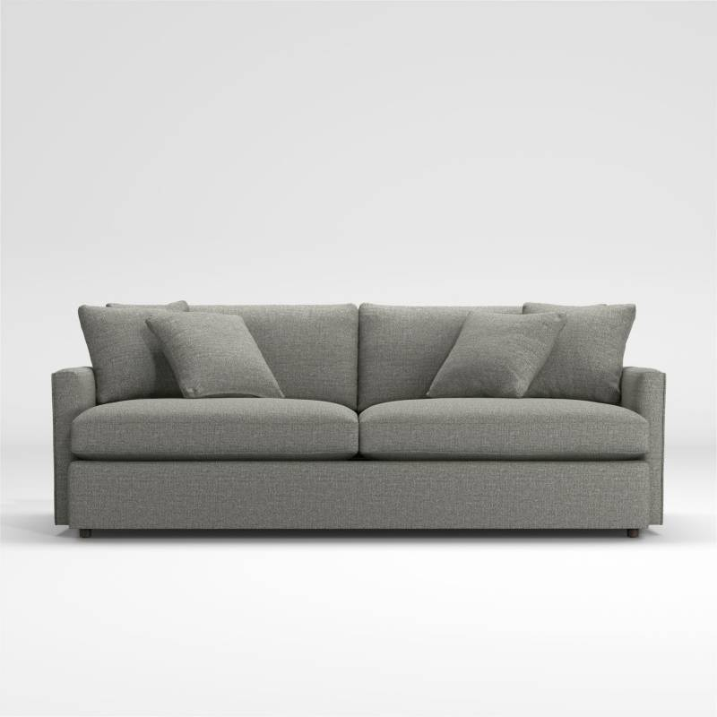 Crate & Barrel - Sofá Lounge ll 2 Puestos de 236cm
