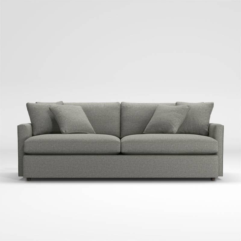 Crate & Barrel - Sofá Lounge ll 3 Puestos de 236cm
