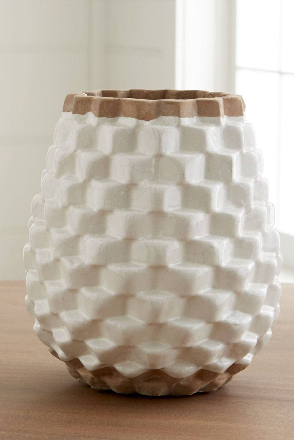 Crate & Barrel - Florero Rati