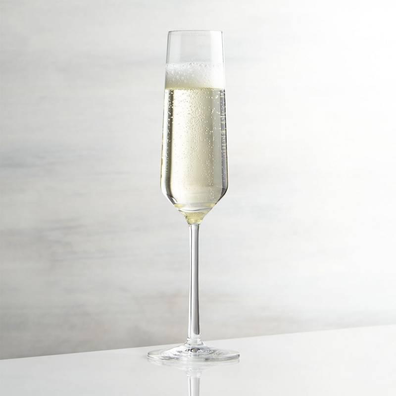 Crate & Barrel - Copa para Champagne Tour