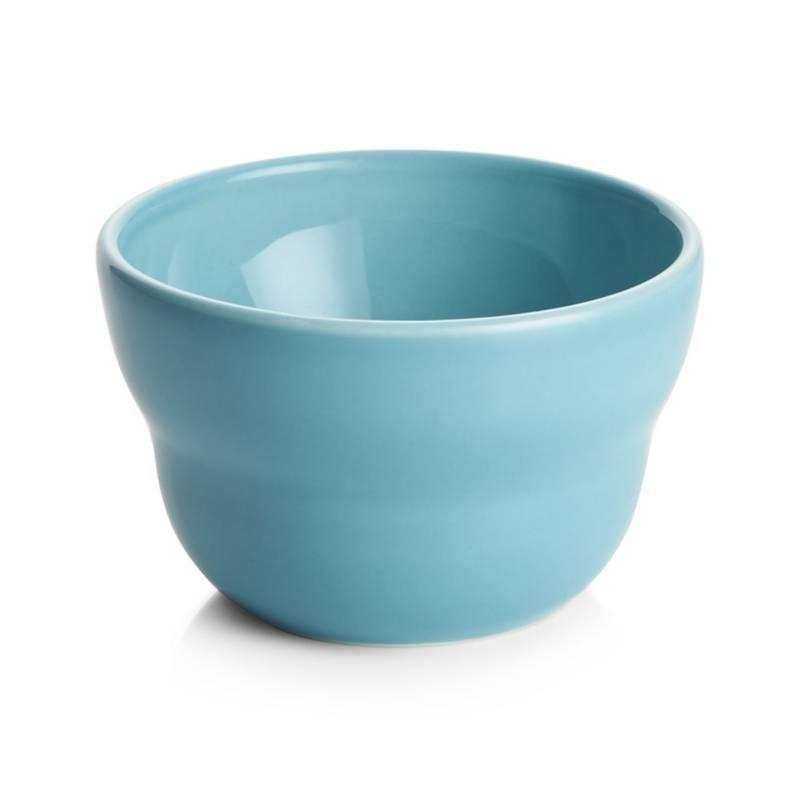 Crate & Barrel - Bowl Aqua 10 cm