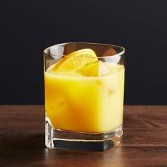 Crate & Barrel - Vaso Doble Strauss Old-Fashioned
