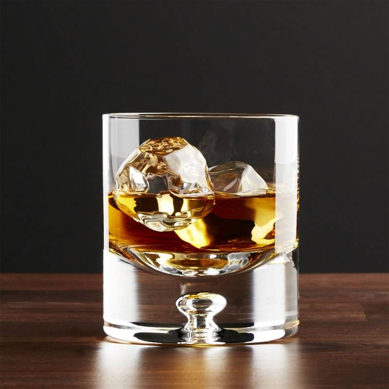 Crate & Barrel - Vaso para Whisky Doble Direction