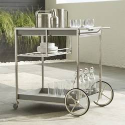 Crate & Barrel - Carro de Bar Dune