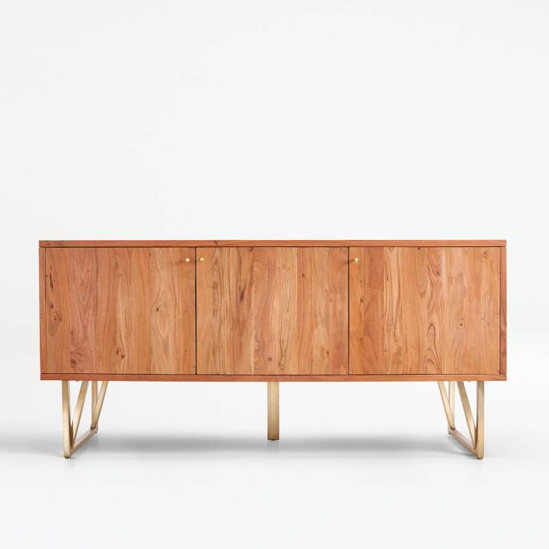 Crate & Barrel - Aparador Hayes 178 cm en Madera Natural