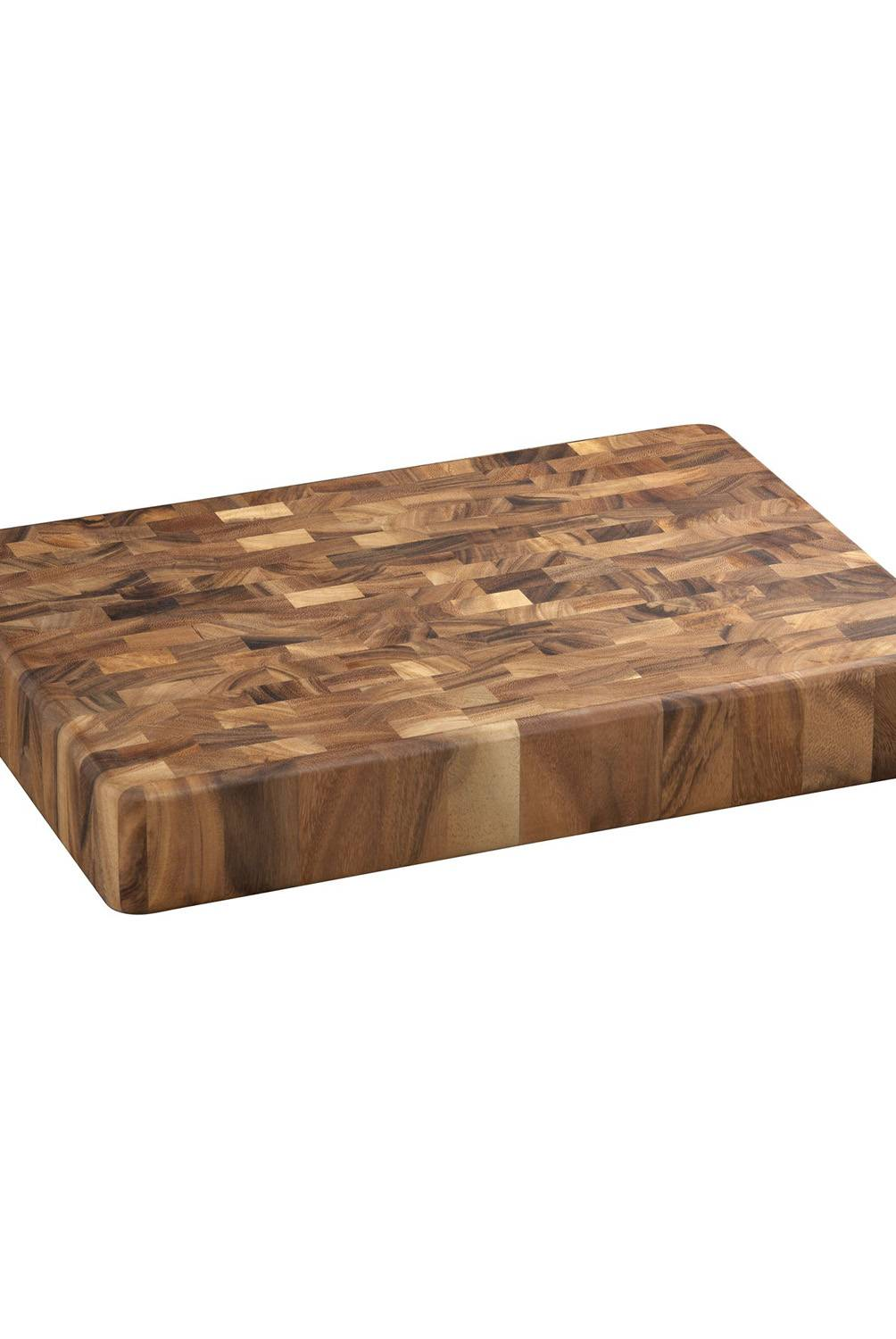 Crate & Barrel - Tabla Rectangular para Picar de Madera a Contrafibra