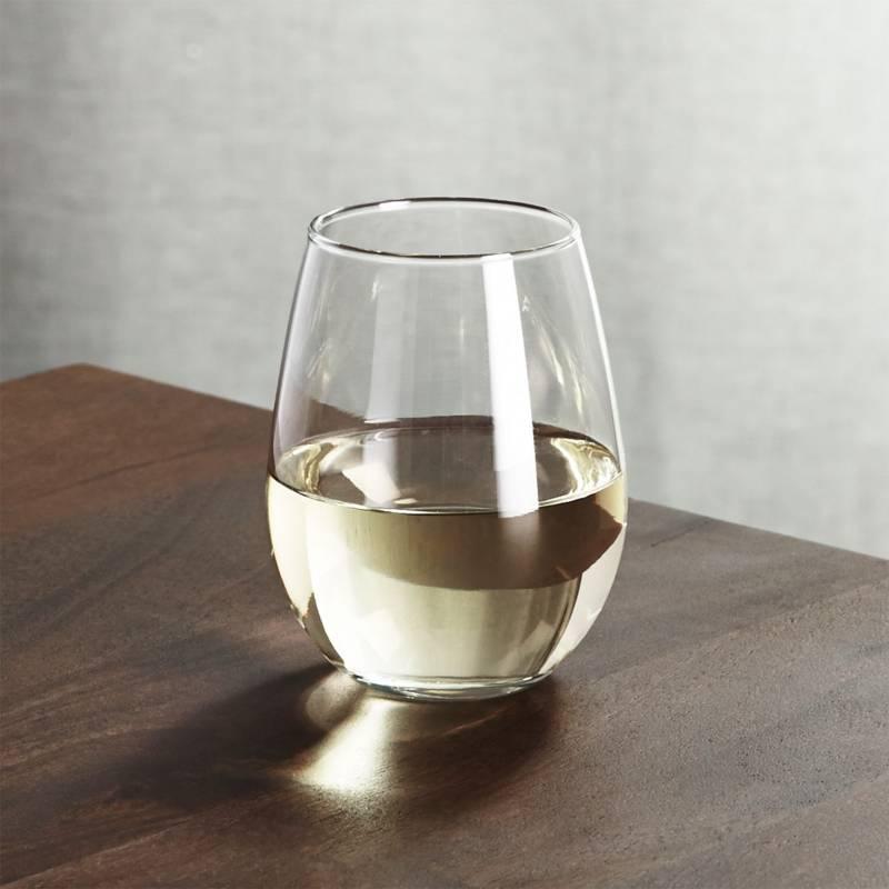 Crate & Barrel - Copa para Vino Blanco sin Tallo