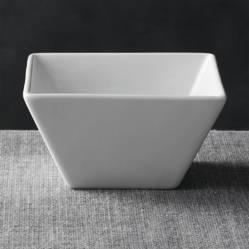 Crate & Barrel - Bowl de Sevir Cuadrado 12 cm.