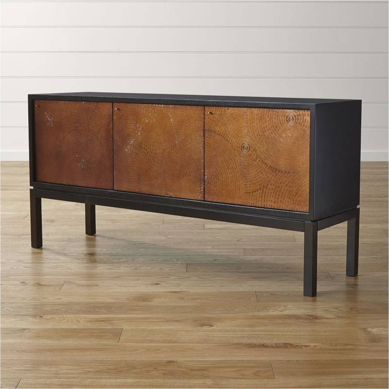 Crate & Barrel - Aparador Cirque 177 cm.