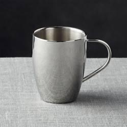 Mug de Acero Inoxidable Doble Pared 414 ml