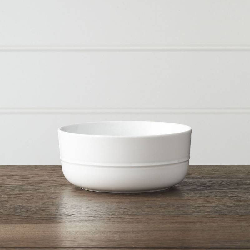Crate & Barrel - Bowl Hue Blanco 15 cm