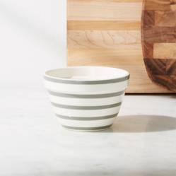 Mini Bowl a Rayas Avery Gris