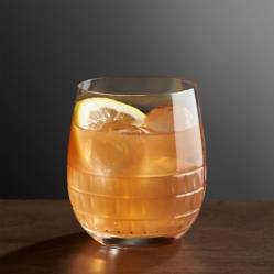Crate & Barrel - Vaso Ana para Doble Old-Fashioned