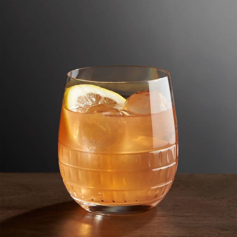 Crate & Barrel - Vaso Ana para Doble Old-Fashioned