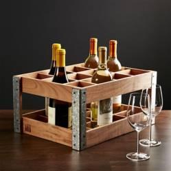 Caja/Estructura de Estantes para Vino