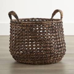 Crate & Barrel - Canasta Zuzu con Asas Grande