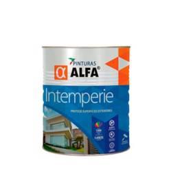 Alfa - Pintura intemperie blanca 1gl