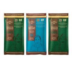 Juanchoconat - Combo x3 Barras Sin Azucar: 100%, 100% St y Monk Fruit