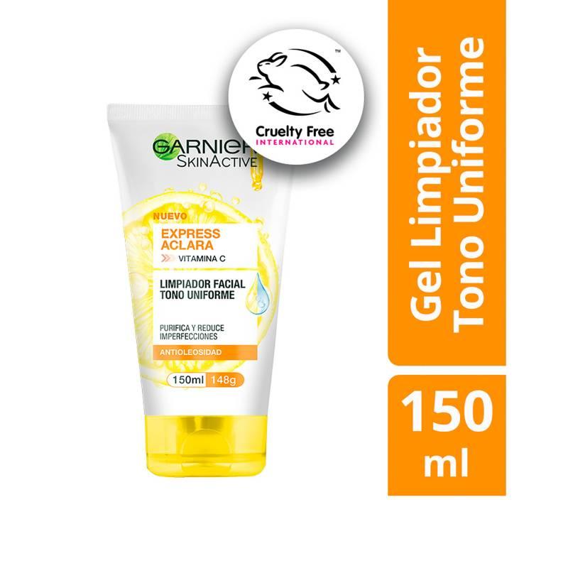 Garnier - Gel Limpiador Express Aclara con Vitamina C Garnier 150 ml