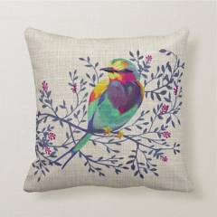 Sutex - Cojín 45 x 45 cm Colorful Bird