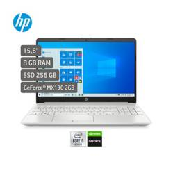 HP - Portátil HP 15.6 pulgadas Laptops 15-dw2043la tarjeta de video GeForce MX130 2GB