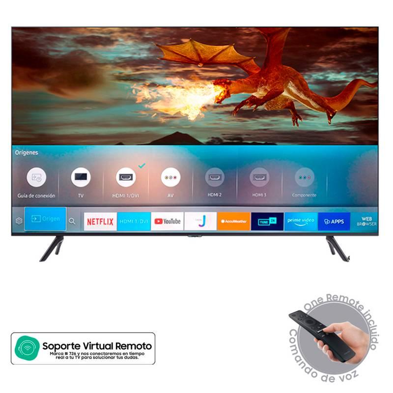 Samsung - Televisor Samsung 75 pulgadas LED 4K Ultra HD Smart TV
