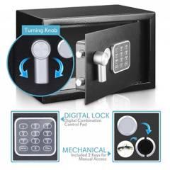 SERENELIFE - Caja de seguridad electrónica compacta con almohad