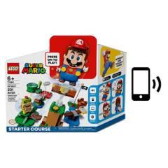 Lego - LEGO Super Mario Set Inicial + Figura Interactiva Mario
