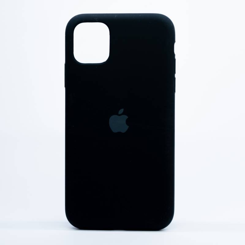 Digicell - Carcasa Iphone 11 Silicone Case Negro
