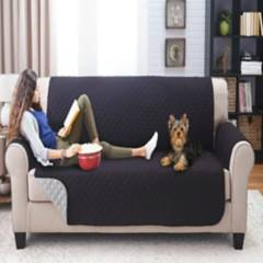 Happy bear - protector sofá microfibra negro gris 3 ptos
