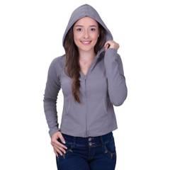 Bocared - Irem saco para dama manga larga con capota
