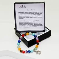 AZ ACCESSORIES - Pulsera piedra natural chakra az accesorios