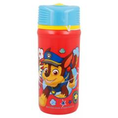 STOR - Botella paw patrol comic tapa twister 390ml/18814