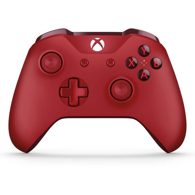 Microsoft - Control para Xbox One Rojo