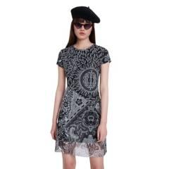 Desigual - Vestido Corto Desigual