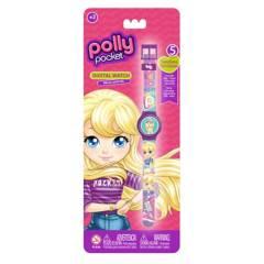 Boing Toys - Reloj LCD Polly Pocket 5 Funciones