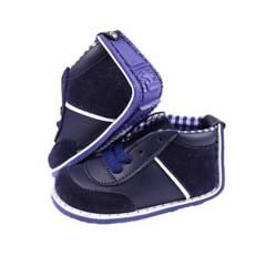 Zapaticos Notuerce - Zapato bebe escocesa azul notuerce niño