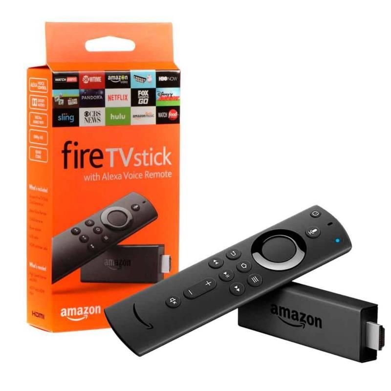 Amazon - Amazon fire tv stick control de voz alexa