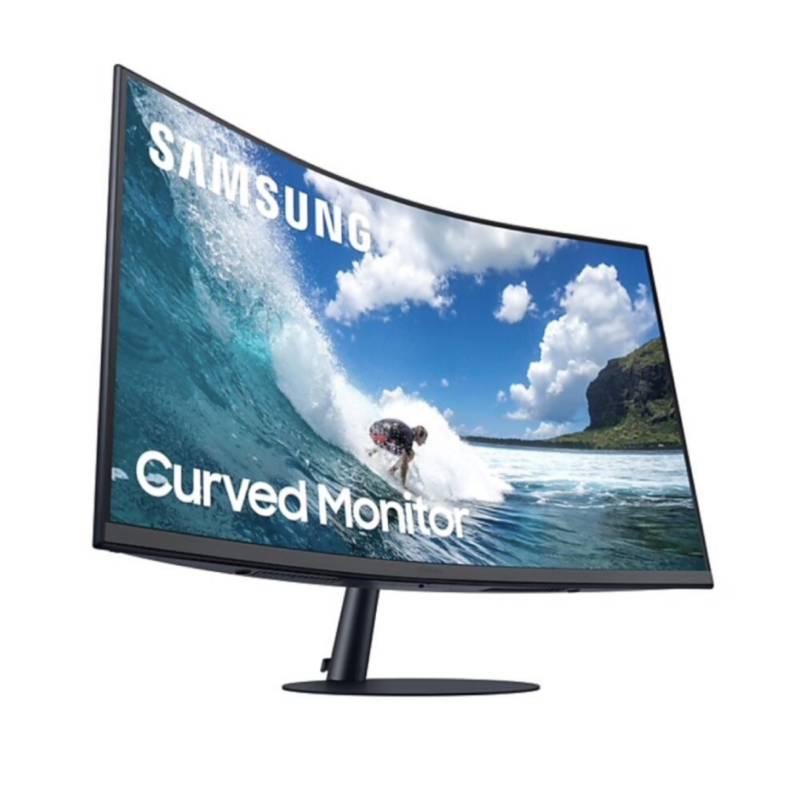Samsung - Monitor Samsung Curvo 27 Full HD Altavoces 75Hz