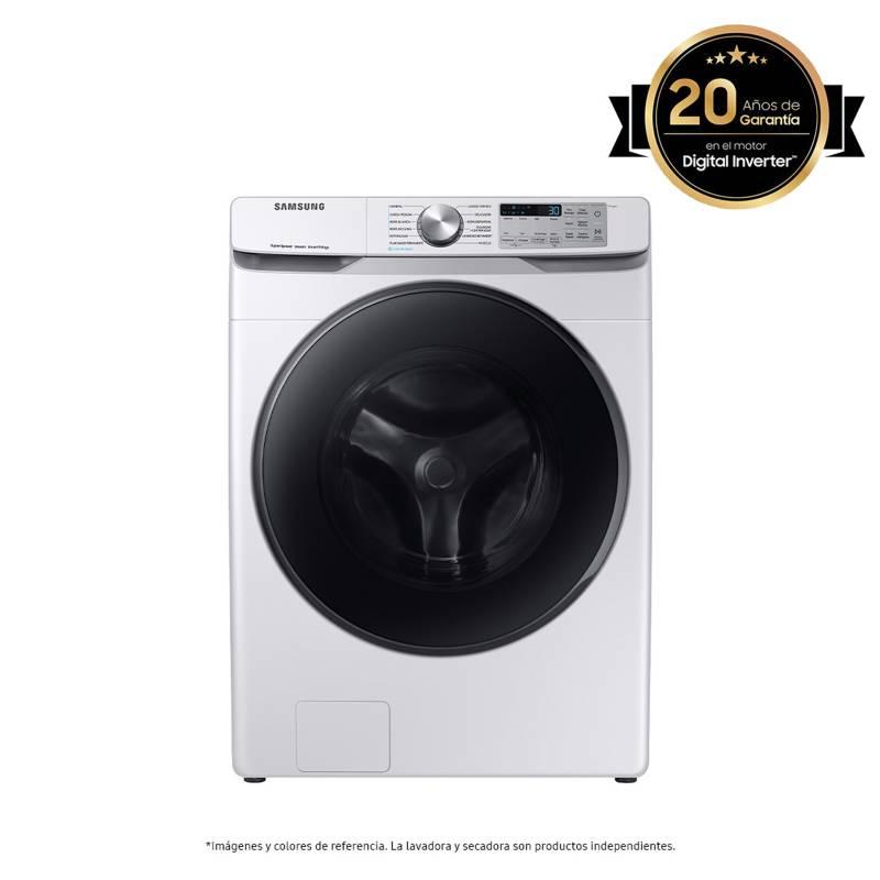 Samsung - Lavadora Samsung Carga Frontal 22 kg WF22R6270AW/CO