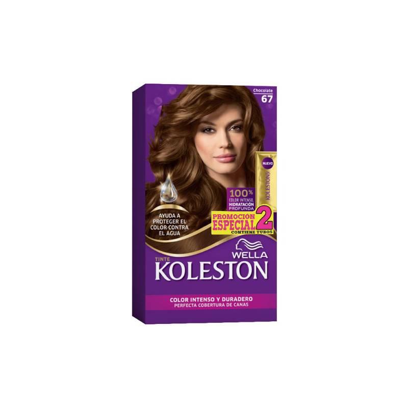 Wella Consumo - Kit Tinte Doble Tubo Koleston Chocolate