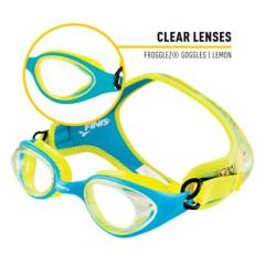 Finis - Gafas niños Frogglez Lemon Clear