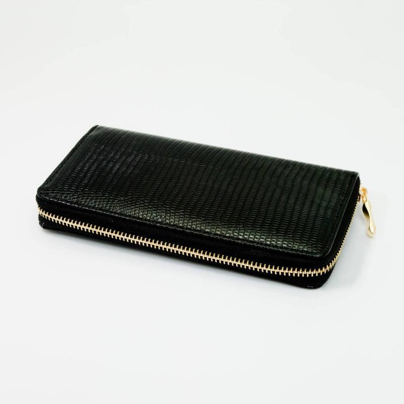 AZ ACCESSORIES - Billetera Mujer Grabado Culebra Az Accesorios