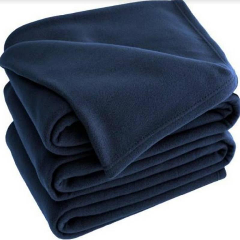 Happy bear - Cobija térmica  230 gr/mt2 azul oscuro sencillo