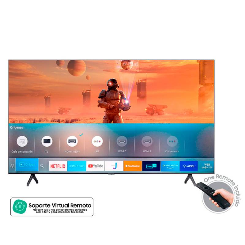 Samsung - Televisor Samsung 70 pulgadas LED 4K Ultra HD Smart TV