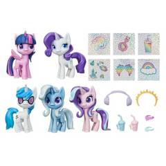 My Little Pony - Playset My Little Pony Colección de unicornios brillantes