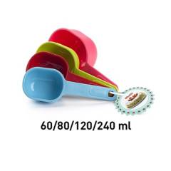 Plastic Forte - Cucharas Medidoras 60-80-120-240 ml